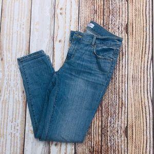 Loft 26/2 Petite Skinny Crop Jeans